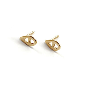 Drop Earrings, Gold