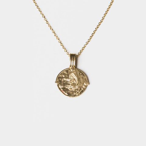 Pisces Necklace Gold