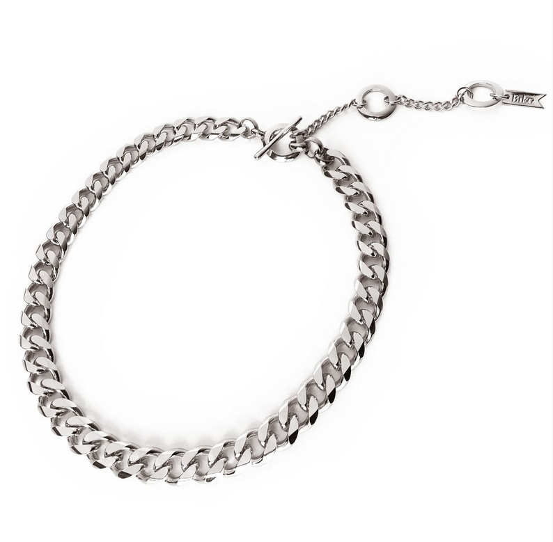 Rebel Collar Silver