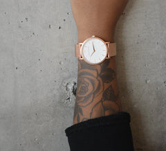 LUGANO CM 40mm ROSE