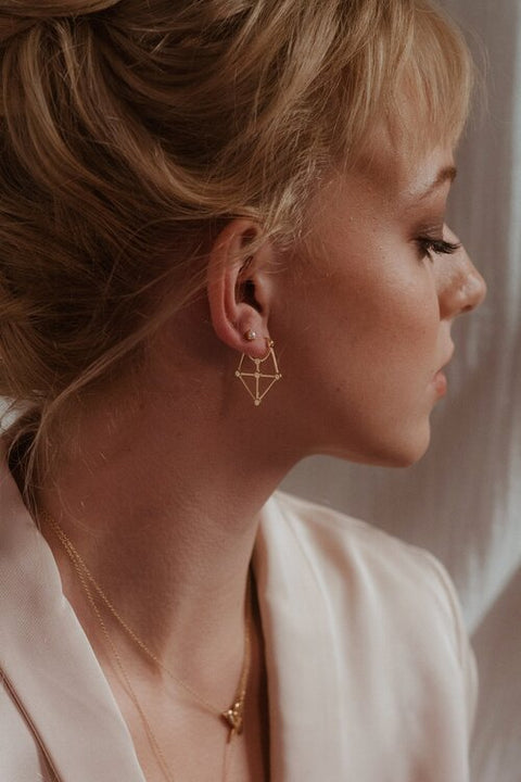 Carice Earrings Gold