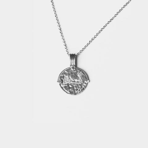 Scorpio Necklace Silver
