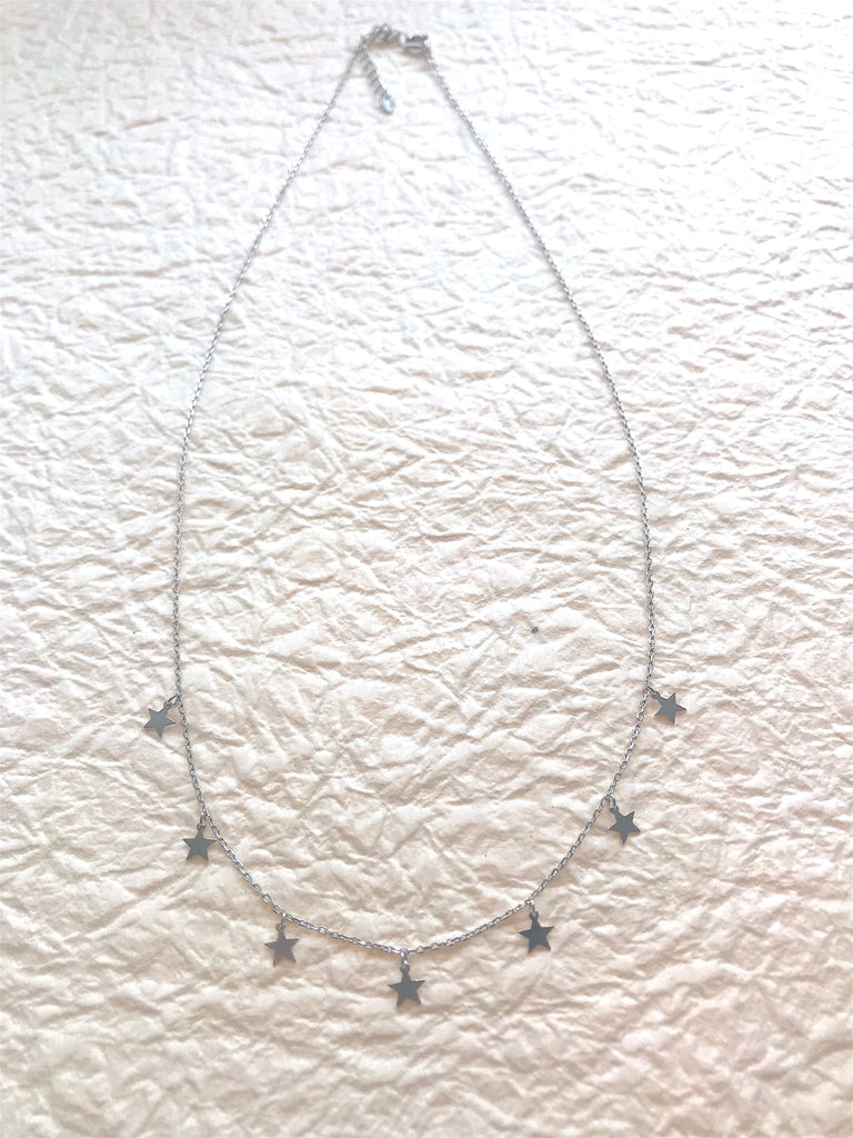 Little Star Necklace Silver