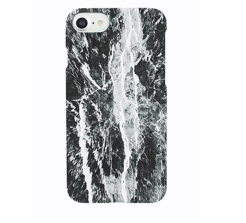 Static Marble iPhone Case-Tech-Felony Case-7-ZANE
