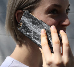 Static Marble iPhone Case