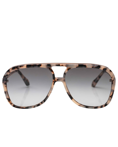 Bang | Ivory Tort | Rose Gold Metal Trim | Black Gradient Lens
