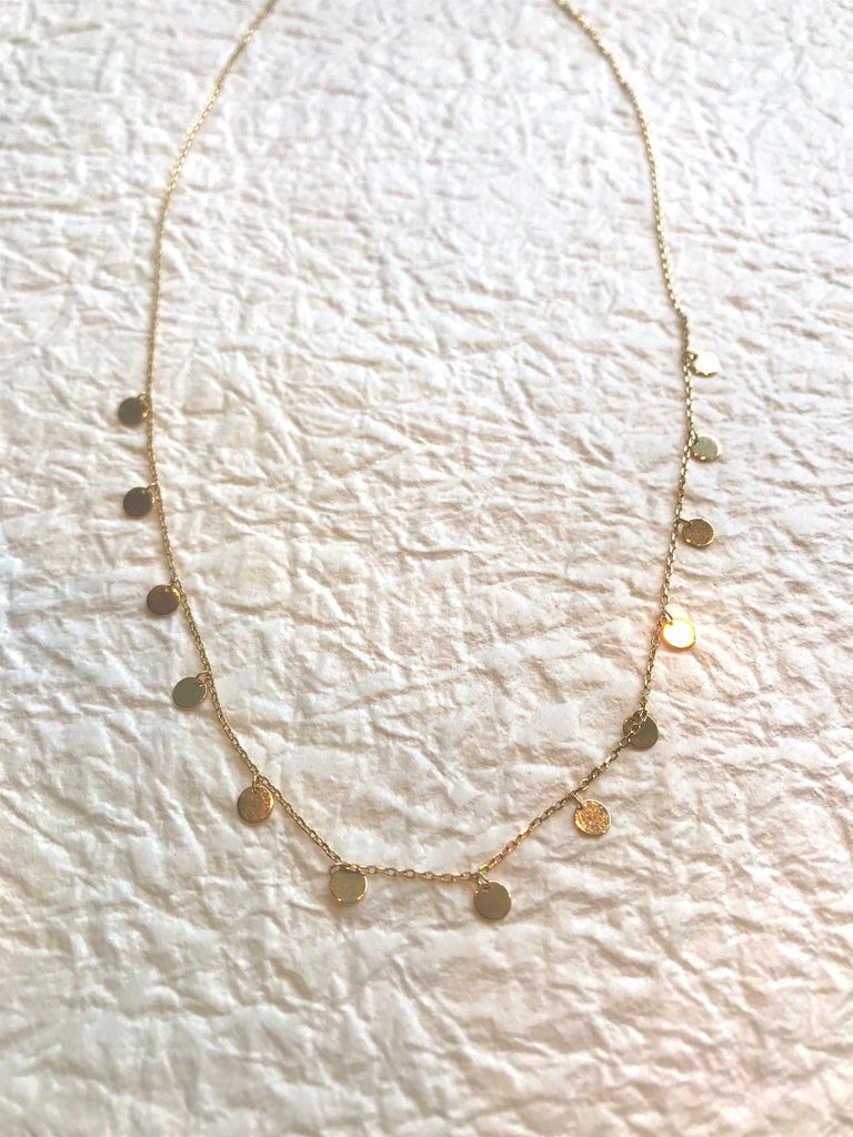 Walton Necklace Gold