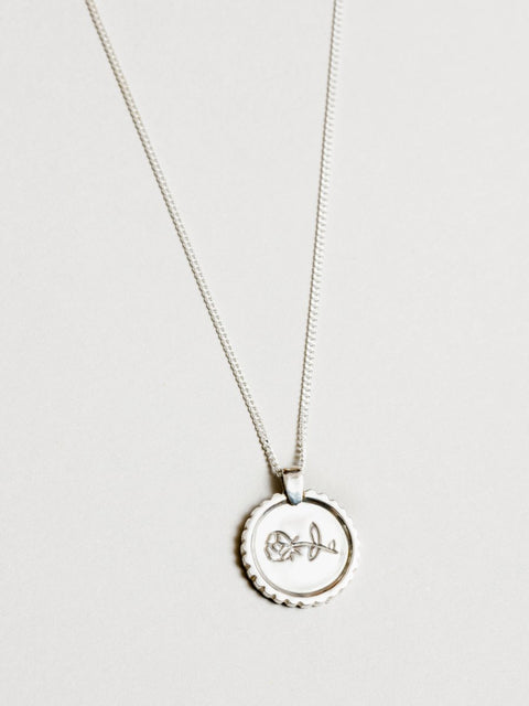Rosie Necklace | Sterling Silver