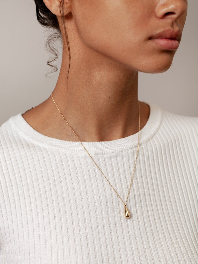 Dune Necklace Gold