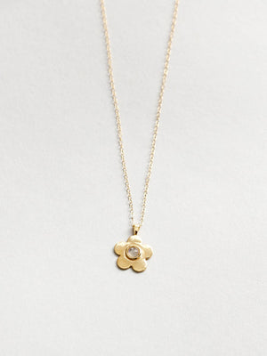 Paisley Necklace Gold
