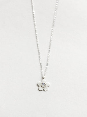 Paisley Necklace Silver