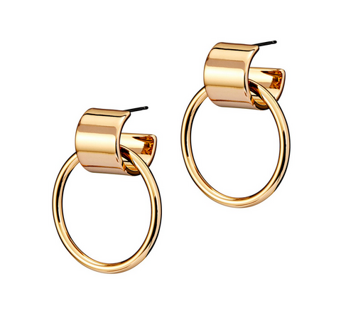 Faye Knockers | 14k Gold Dipped