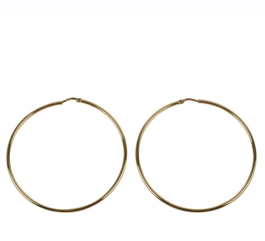 Hoop 55mm, Gold-Jewelry-ZANE-55mm-ZANE