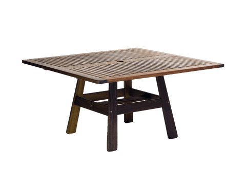 "Jensen Outdoors Classic Ipe Beechworth 53"" Square Dining Table"