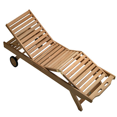 Royal Teak Sunbed Chaise Lounge