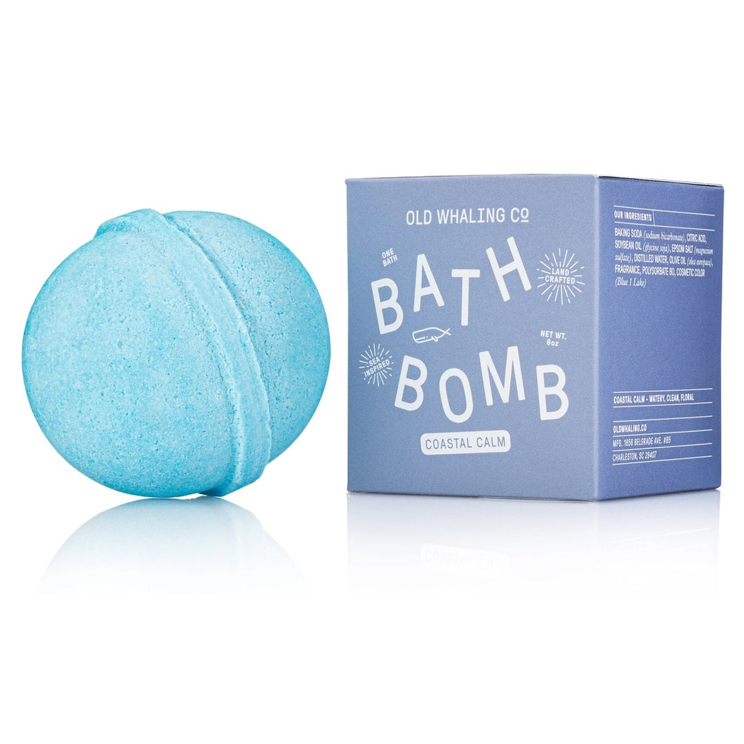 Coastal Calm Jumbo 8 oz Bath Bomb