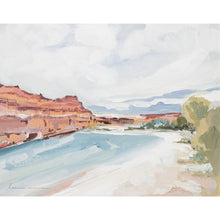 Load image into Gallery viewer, River Canyon Giclee Canvas Print