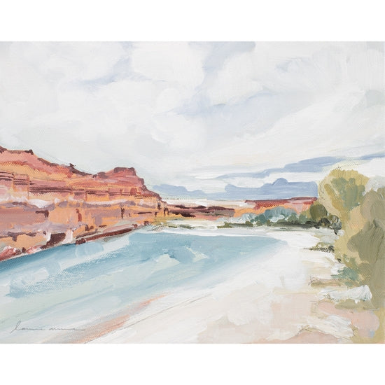 River Canyon Giclee Canvas Print