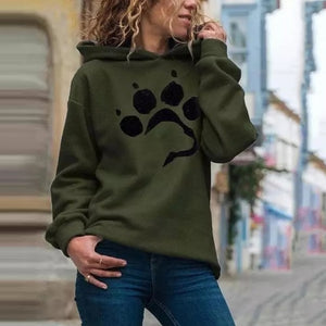Open image in slideshow, Dog Paw Hoodie