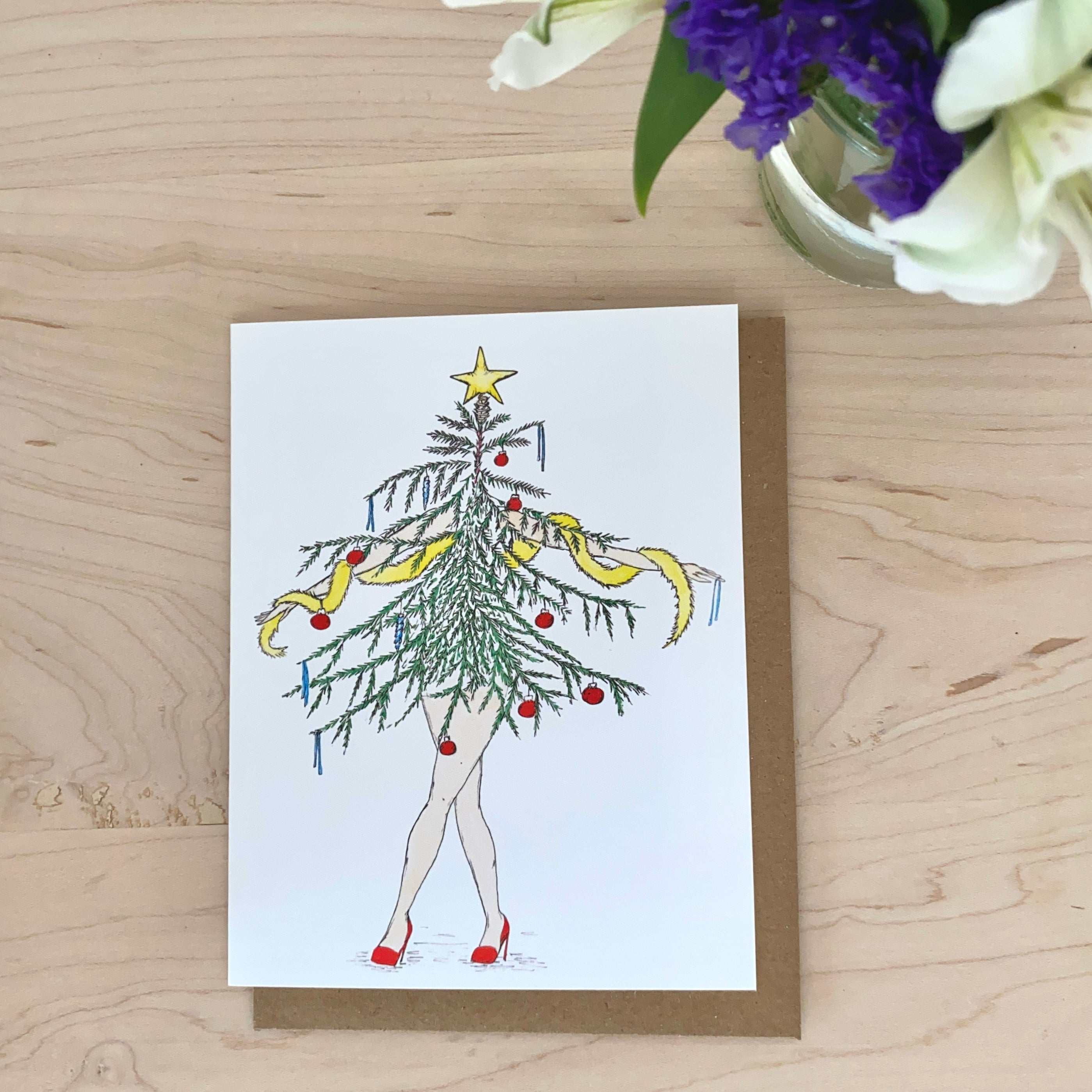 Spruce Lady Holiday Card