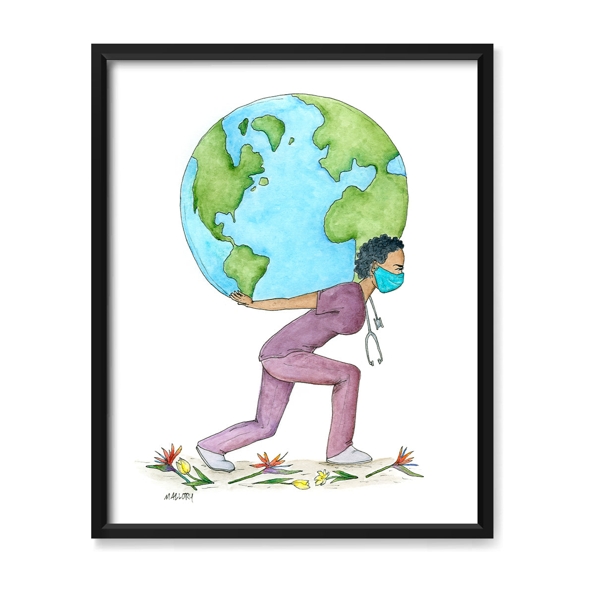 Weight of the World for All Print