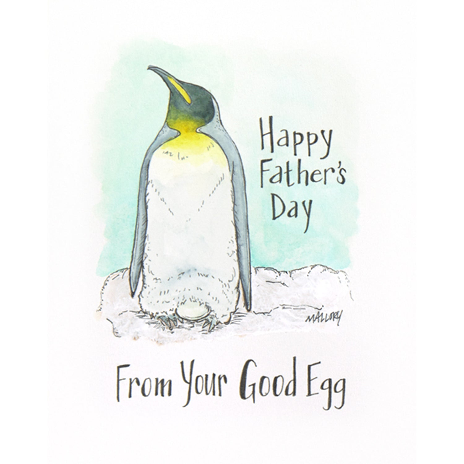 Good Egg Father's Day Card