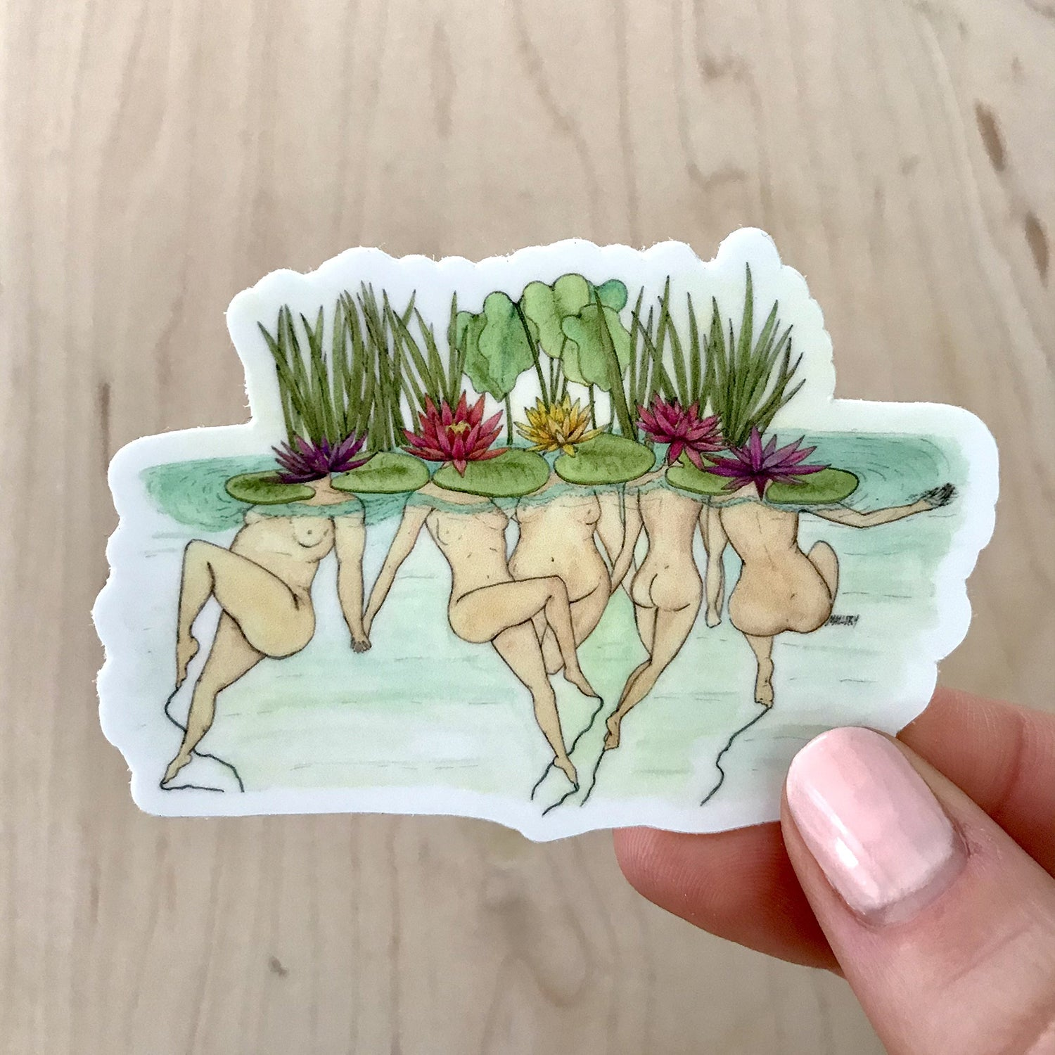 Lily Ladies Sticker