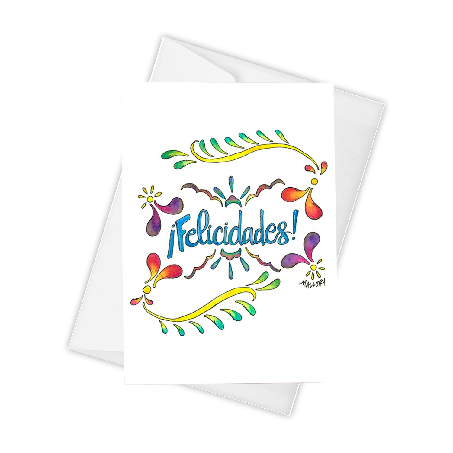 Handmade graduation card, beautiful card for graduation