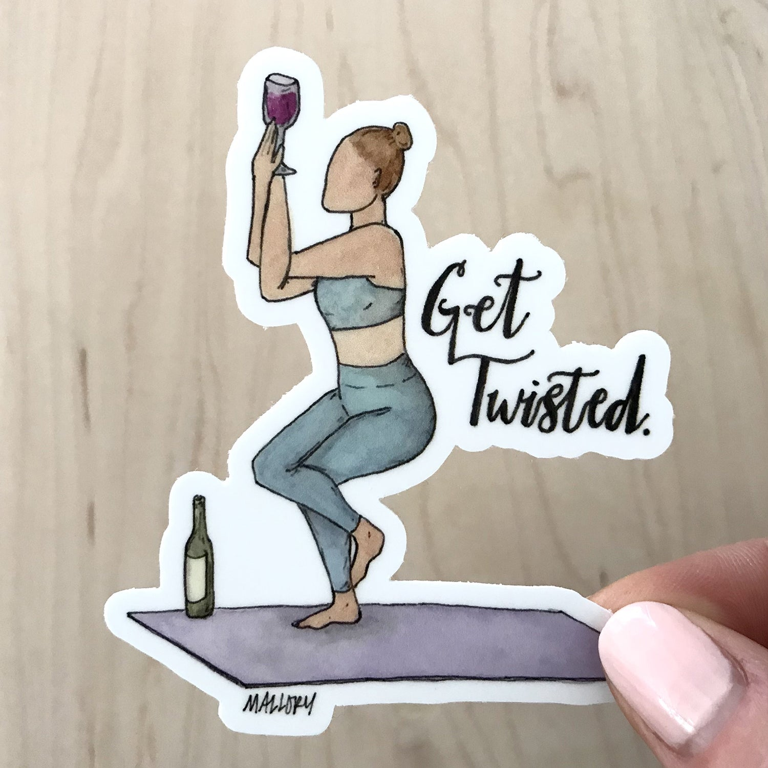Get Twisted Sticker