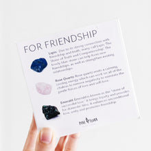 Load image into Gallery viewer, FRIENDSHIP Crystal Gift Set ($60 value)