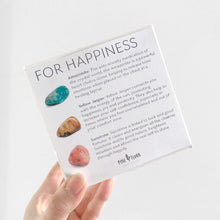 Load image into Gallery viewer, HAPPINESS Crystal Gift Set ($60 value)