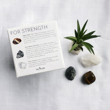 Load image into Gallery viewer, STRENGTH Crystal Gift Set ($60 value)