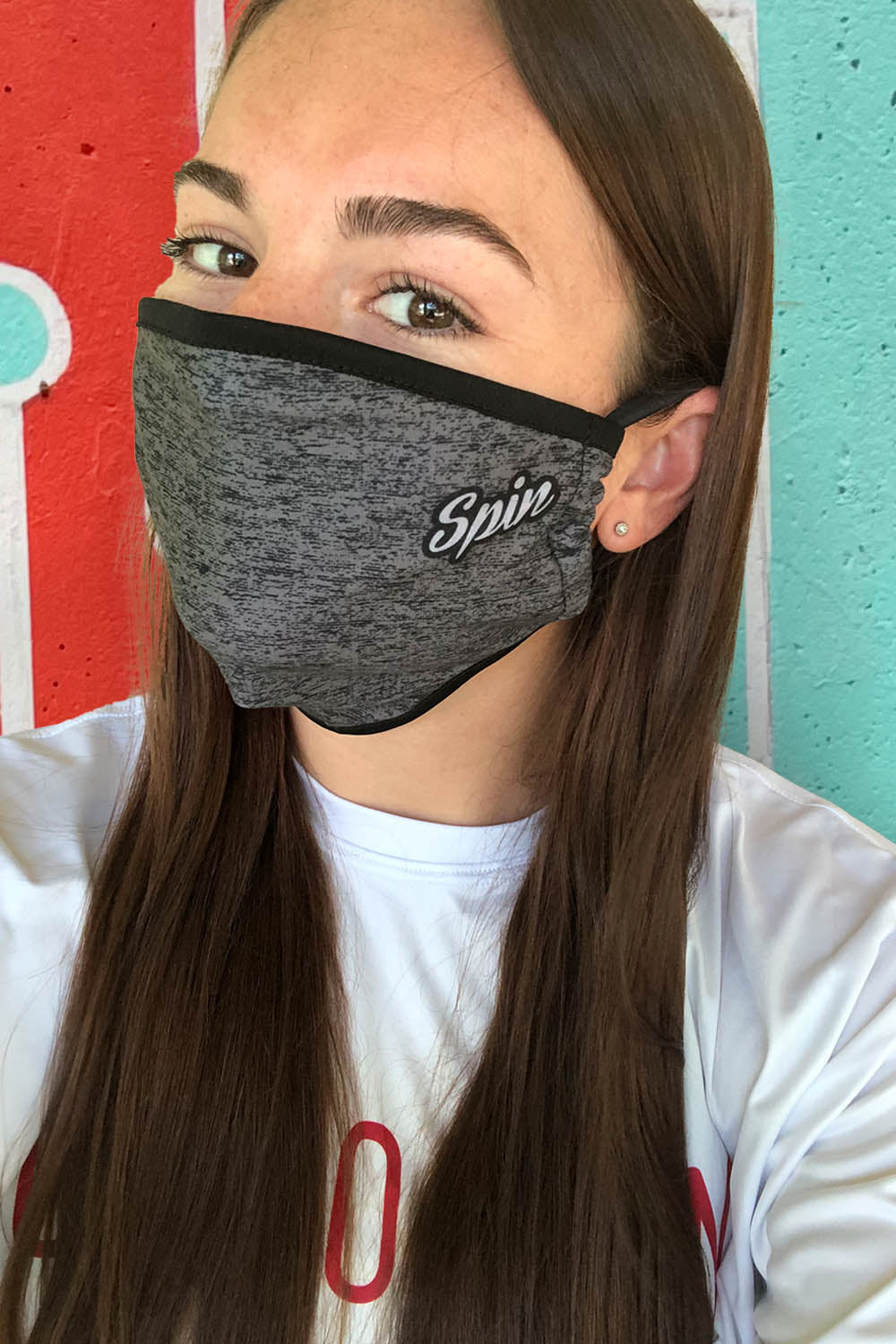 Heather Grey Mask