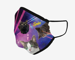 Laser Kitties Mask
