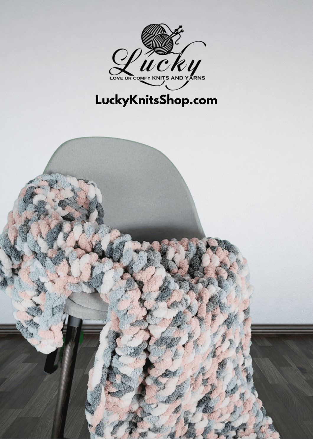 Silver Lining Throw/Blanket Blankets Luckyknitsshop Lapghan 36