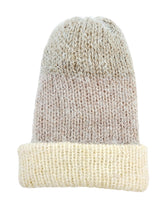 Load image into Gallery viewer, Beanie Hand Knit Hat- Luxe Dreams Softie Luckyknitsshop