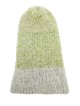 Load image into Gallery viewer, Beanie Hand Knit Hat - Green Pine Softie Luckyknitsshop