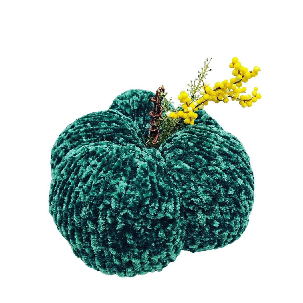 Hand Knit Pumpkins Home Décor Luckyknitsshop