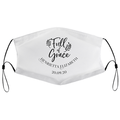 Full of Grace - Personalised Wedding Masks