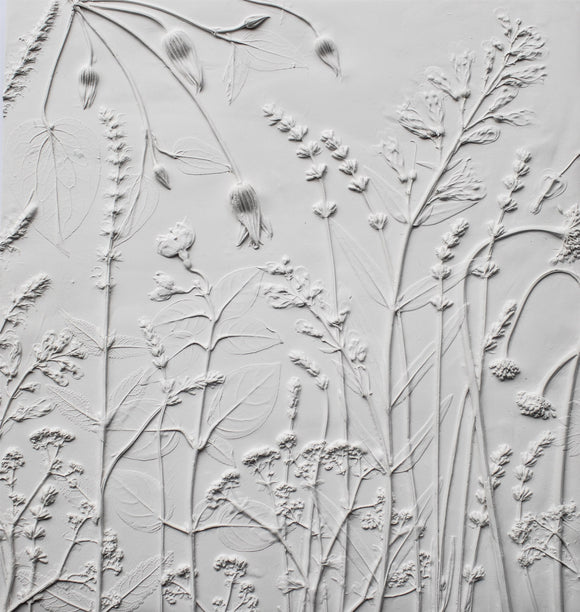 cottage garden one plaster cast