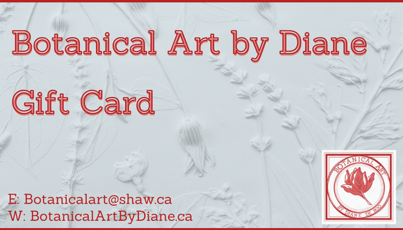 Botanical Art by Diane Gift Card