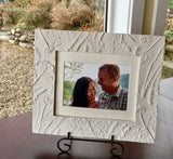 'Plaster Relief Photo Frame' by Botanical Art by Diane