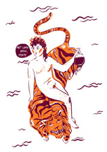 Load image into Gallery viewer, Dionysus and the Big Fat Tiger