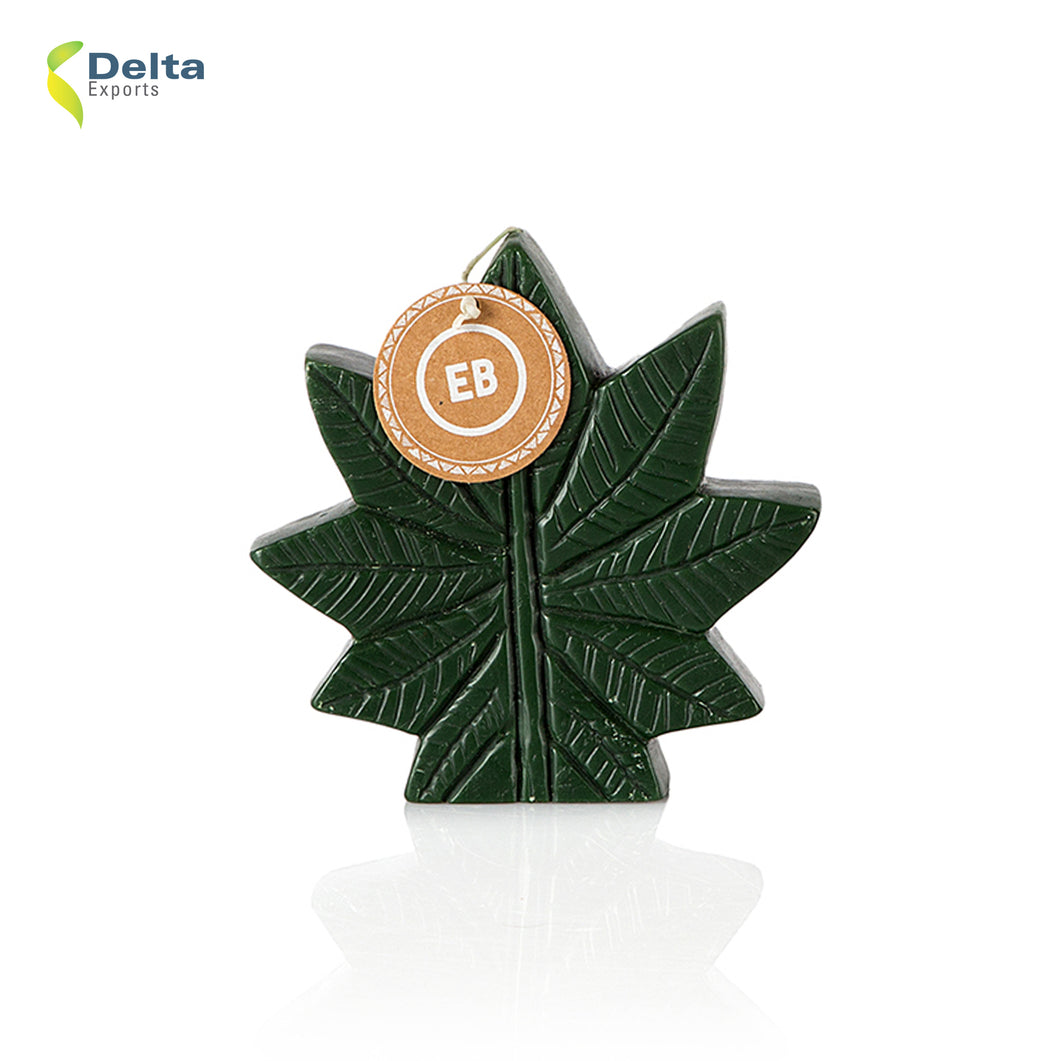 DECORATIVE POT LEAF CANDLE