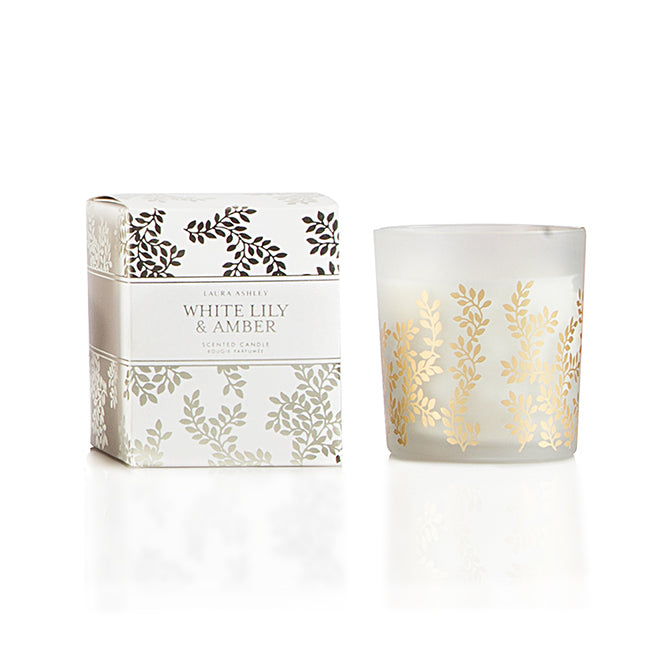 SCENTED FOIL GLASS CANDLE IN PREMIUM PAPER BOX