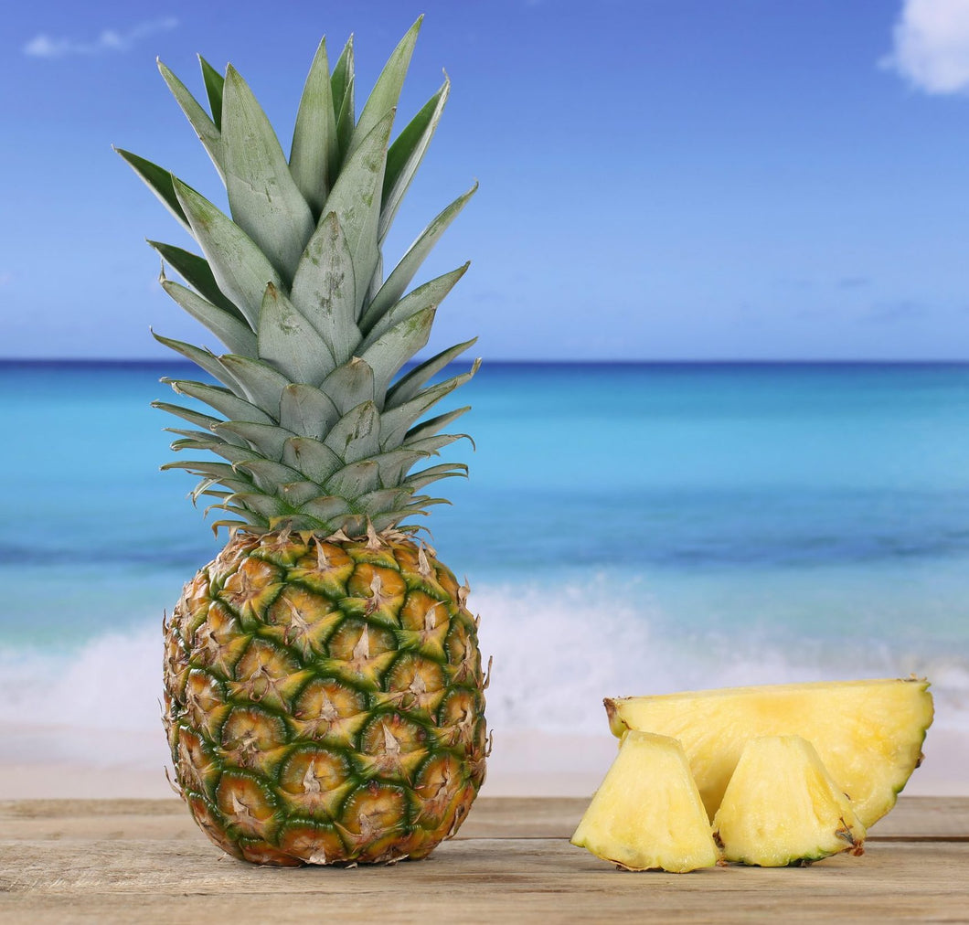 PINEAPPLES & PALM TREES