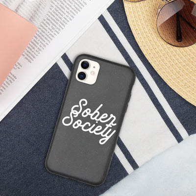 Sober Not Sorry Sober Society Collection Biodegradable phone case - iphone 11