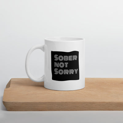 Sober Not Sorry - MultiBlack Sober not Sorry collection mug