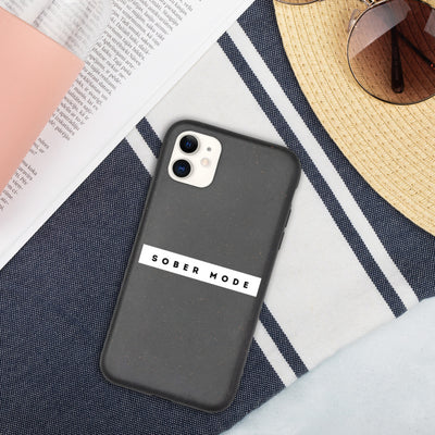 Sober Not Sorry SOBER MODE Collection Biodegradable phone case - iphone 11