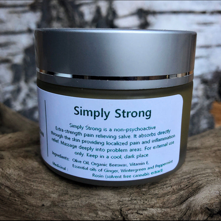 Simply Strong 50mL Jar